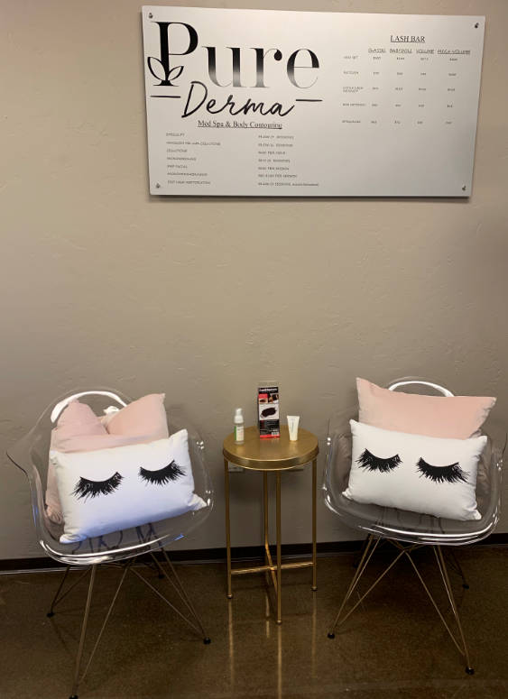 Lash Bar at Pure Derma Med Spa